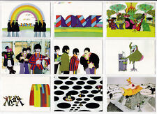 THE BEATLES YELLOW SUBMARINE COMPLETE 72 TRADING CARD SET MADE IN 1999
