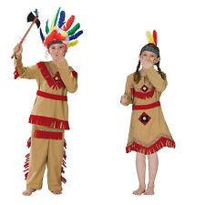 Indianer Indianerin Kostüm Kinderkostüm Fasching Karneval Indianerkostüm Squaw