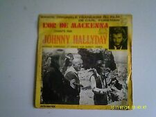 EP HALLYDAY L'OR DE MACKENNA
