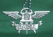 GW WARHAMMER 40K edición limitada de venta fuera de imprenta Guardia Imperial Cadia Colgante Cadena.