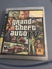 Grand Theft Auto IV (GTA4) PlayStation 3 PS3 Liberty City