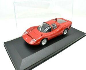 MODELLINO AUTO FIAT OT 2000 TIPO 139 ABARTH COLLEZIONE SCALA 1/43 DIECAST ixo