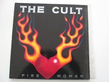 """THE CULT FIRE WOMAN 12"""" WEST GERMANY PRESSING BEG228T"""
