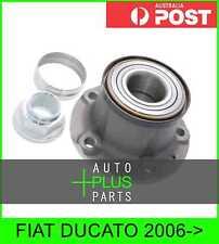 Fits FIAT DUCATO Rear Wheel Bearing Hub