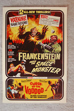 Frankenstein Meets the Space Monster Lobby Card Movie Poster Curse of the Voodoo