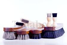 Bürstenset Exclusiv 8-teilig Schuhputzset Schuhpflegeset mit Rosshaarbürsten