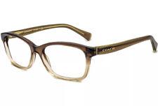 Coach Eyeglasses HC6089 5400 Olive Brown Gradient 51-16-135 DEMO FRAME-NO LENS