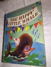 "The Happy Little Whale 1960 Little Golden book  ""A"" edition"
