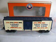 Lionel Trains O/O-27 Scale 2002 New York Toy Fair Box Car #6-29904 EX