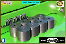 "8 x Body Lift Blocks 2"" 50mm x 50mm Diameter Hilux Landcruiser Ranger LUXLIFTS"
