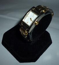 Ladies Guess G66365L Dual Tone Grey Dial Quartz Watch Link Clasp Band