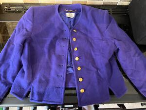 Viyella Purple Jacket Size 12