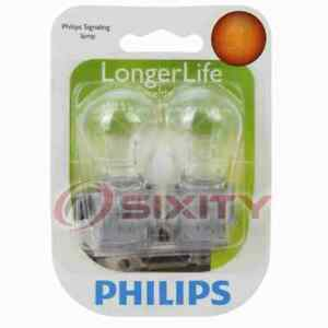 Philips Front Turn Signal Light Bulb for Nissan Quest 1993-1997 Electrical qm