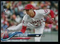 2018 Topps Update SSP #US1 Shohei Ohtani 5x7 RC Rookie Pitching Image #d 20/49