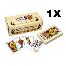 1x Spanish Playing Cards Baraja Espanola Briscas Naipes Deck New