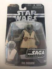 Star Wars Saga Collection Foul Moudama Action Figure Hasbro w/ 2in Hologram Figu