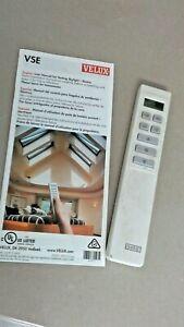 Velux Skylight Remote Control WLR 160 50 01 w/ Instructions WORKS