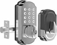 Turbolock TL114 Digital Smart Door Lock Keyless Door Lock w/ Keypad Voice Prompt