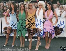 "Girls Aloud Reprint Signed 8x10"" Photo RP Electronic Dance Pop Autographed"