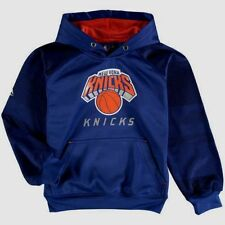 New York Knicks Armour II Pullover Hoodie Youth Large Blue Cool Logos NBA