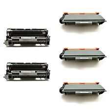 3PK TN750 Toner+2PK DR720 Drum For Brother MFC-8510DN 8515DN HL-5440DN 5445D