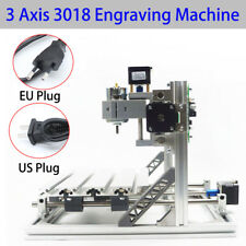 3 ASSI Fai Da Te Desktop CNC Router Kit 3018+ Incisore Mini Engraving Milling Ma