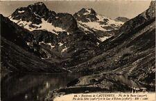 CPA Cauterets - Pic de la Basse, la Sébe et le Lac d'Estom (281353)