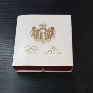 Monaco Coffret Officiel BE Proof 10€ Euro Or Rainier III 2005