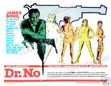 DR. NO LOBBY CARD POSTER HS 1962 JAMES BOND 007 SEAN CONNERY URSULA ANDRESS