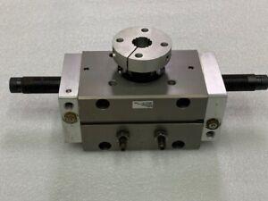 PHD Inc. RAS550X90-CS-M-PB-Q10 Pneumatic Rotary Actuator Used