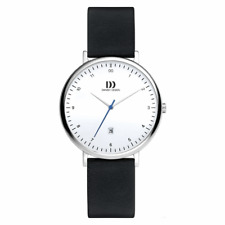 DANISH DESIGN WOMEN'S WATCH 3324606 Date Leather Wrist Band