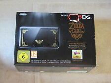 Nintendo 3DS The Legend Of Zelda 25th Anniversary Limited Edition Schwarz *NEU*