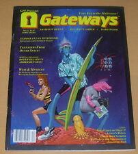 GATEWAYS 12  1989  SCIENCE FICTION FANTASY GAMING MAGAZINE  ZELAZNY ASIMOV