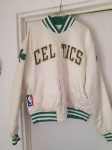 JACKET NBA BOSTON CELTICS BOMBER SATINADA MARCA STARTER