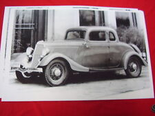 1934  FORD  COUPE   11 X 17  PHOTO   PICTURE