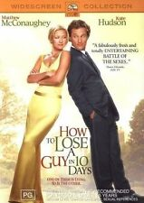 How To Lose A Guy In 10 Days  DVD R4 PAL Kate Hudson, Matthew McConaughey