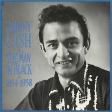 The Man in Black: 1954-1958 [Box] by Johnny Cash (CD, Sep-1990, 5 Discs, Bear Family Records (Germany))