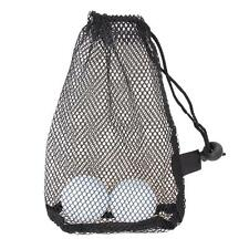 Nylon Mesh Nets Bag Pouch Golf Tennis 15 Ball Carrying Holder Storage Durable