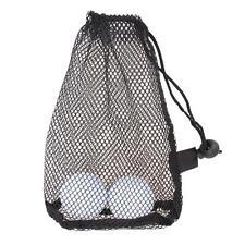 Nylon Mesh Nets Bag Pouch Golf Tennis 15 Ball Carrying Holder Storage Durable