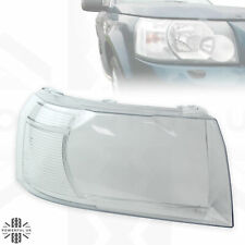 Headlight lens for Freelander 2 (2007-12) replacement glass Right RH O/S lamp