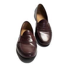 Cole Haan Hombre 10.5 Mocasines Zapatos Cordobán de Piel sin Cierres Nuevo