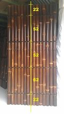 2.0m High x 1.0m Wide PREMIUM QUALITY BAMBOO FENCE PANEL HALF RAFT BAMBOO SCREEN