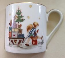 Schmid Christmas Parade Into Toyland Annual Cup 1980 By Sister Berta Hummel