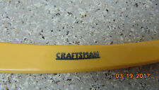 Vintage Sears Craftsman WEDGE  Straight Razor Fine Steel Chicago ILL