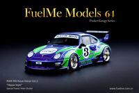 Porsche RWB 911 (993) Royal Ocean Version 2,Scale 1:64 by Fuelme Models