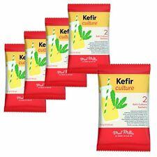 5x Mad Millie KEFIR culture 2x Pack rend jusqu'à 6 L de santé naturels boisson