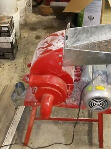 Hammer Mill Feed Grinder - 3hp 110v  Electric Powered! USA In-stock w/Support
