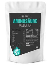 Aminosäure Tabletten Laborgeprüft Eiweiß hochdosiert Muskelaufbau Amino Vegan