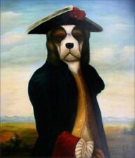 Künstlerische Malereien von Hunden