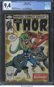 Thor #321 1982 CGC 9.4 - Doug Moench story, Kupperberg cover